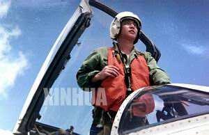 我军战斗机飞行员王伟
