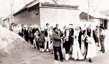 艾滋病村的葬礼