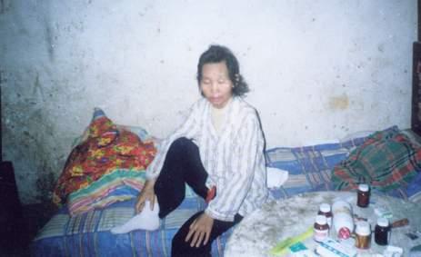 上蔡县十里铺村(艾滋病村)图片系列08(该村村民拍摄)