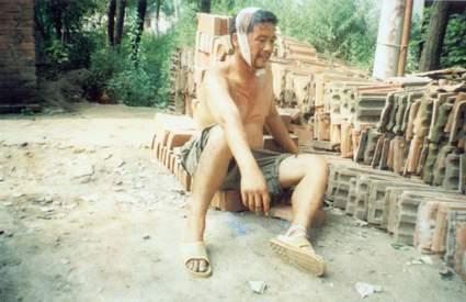 上蔡县艾滋病村图片系列13(该村村民拍摄)