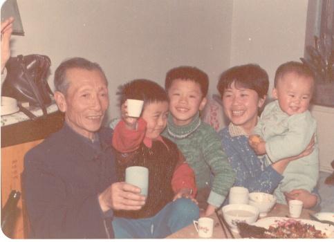 父亲70大寿(1986年)