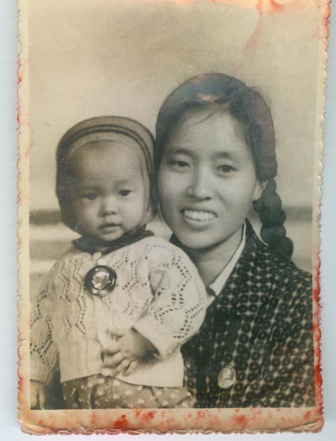我小时候和妈妈