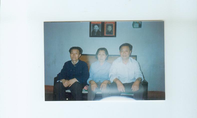 母亲和大舅、二舅