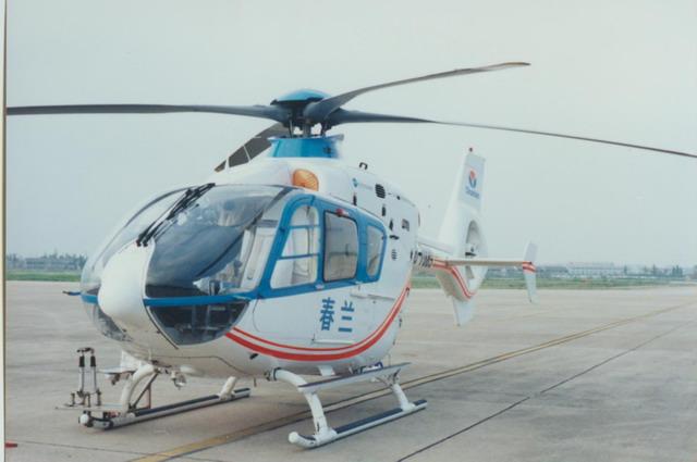 坠毁B7009直升机1