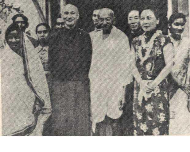 蔣公與甘地