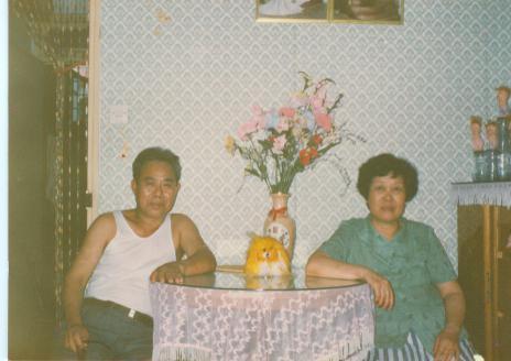 父亲与母亲合影