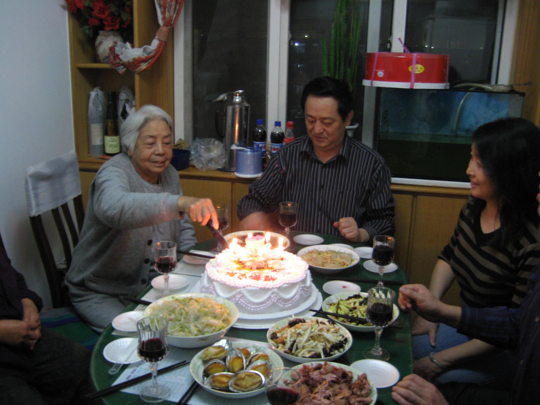 妈妈83岁生日