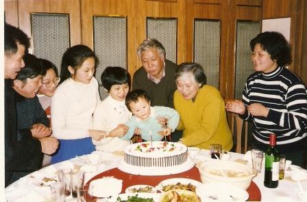 198年为最小孙子过生日