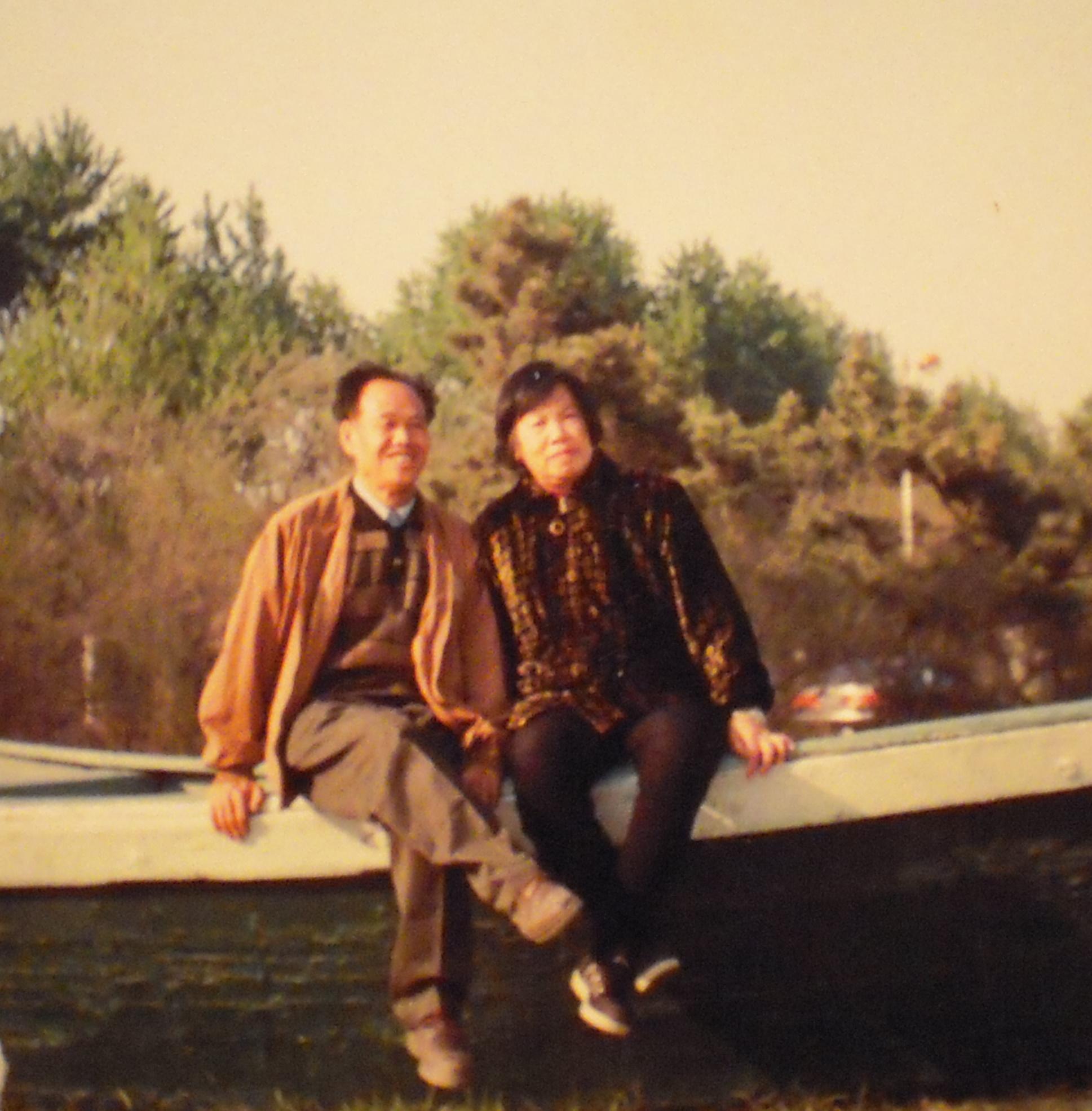 父亲肖善和母亲张英玉的纪念馆
