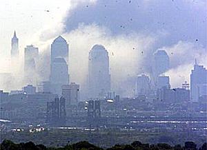 悼念9.11恐怖案无辜遇难同胞