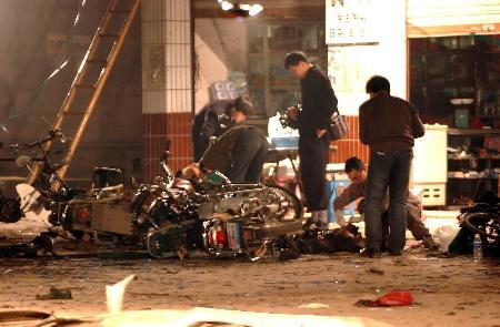 纪念重庆铜梁茶馆爆炸案遇难同胞